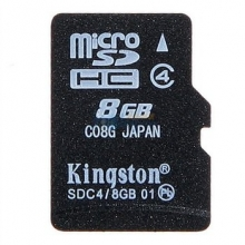 金士顿(Kingston)8G Class4 TF(micro SD)存储卡